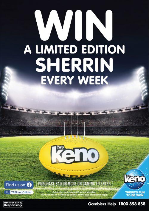 WIN a Sherrin every week