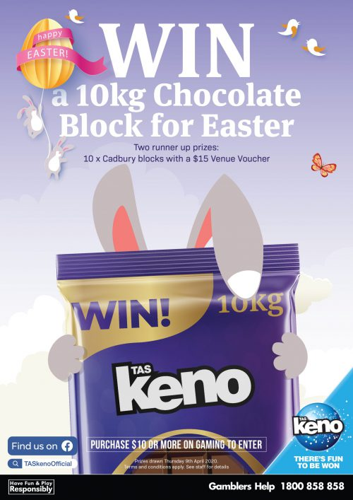 WIN a 10kg Chocolate Block for Easter