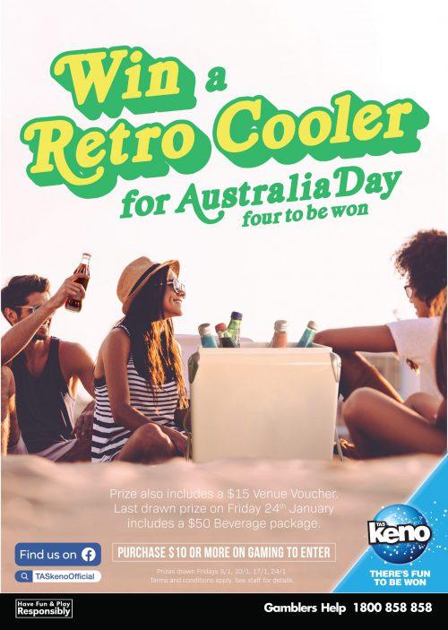 WIN a Retro Cooler for Australia Day