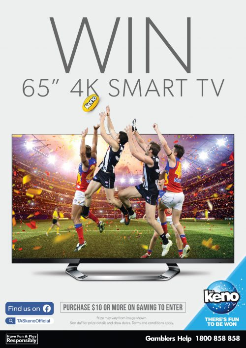 "WIN a 65"" Big Screen TV"