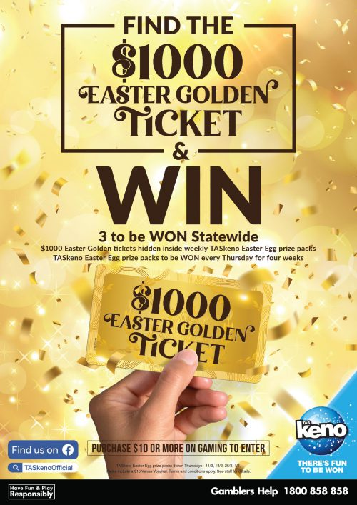 TASkeno Easter Golden Ticket