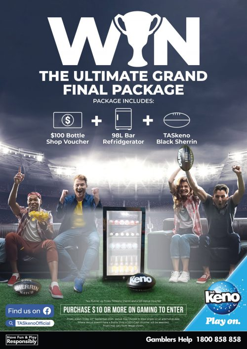 WIN the Ultimate Grand Final Package!