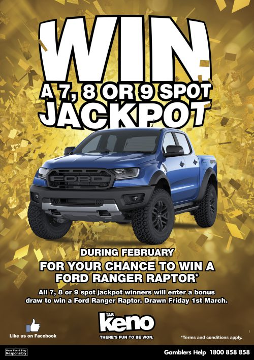 WIN a Ford Ranger Raptor!