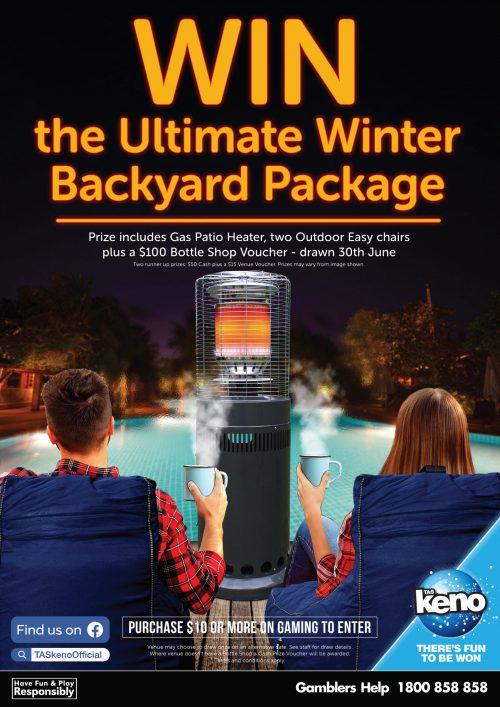 WIN the Ultimate Winter Backyard Package