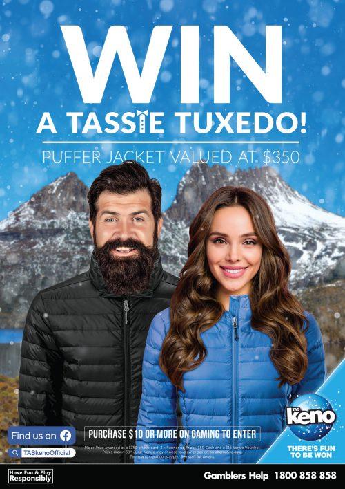 WIN a Tassie Tuxedo!