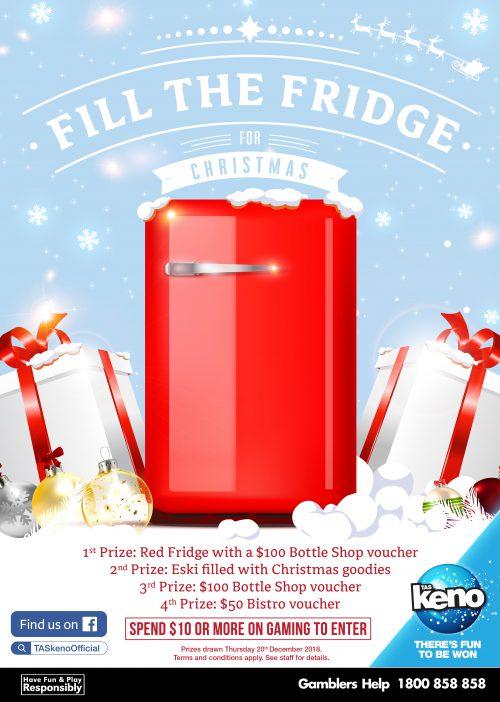 Fill the Fridge for Christmas