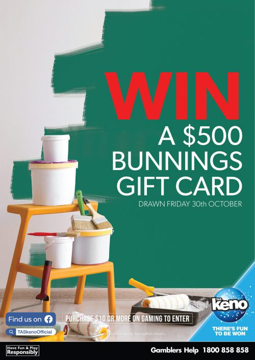 WIN a $500 Bunnings Gift Card