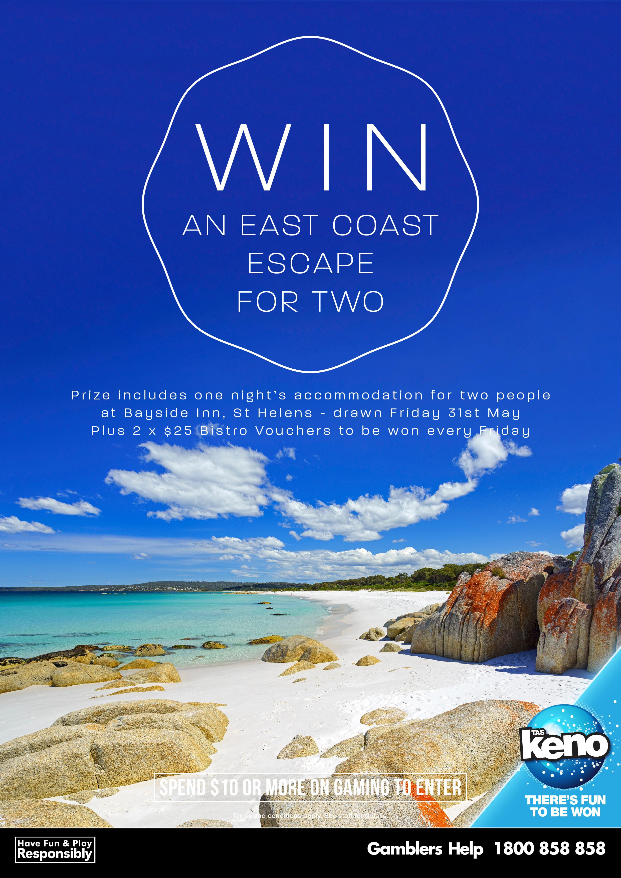 WIN an East Coast Escape