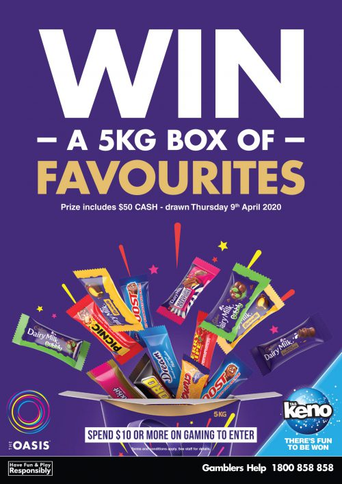 WIN a 5kg Box of Favourites