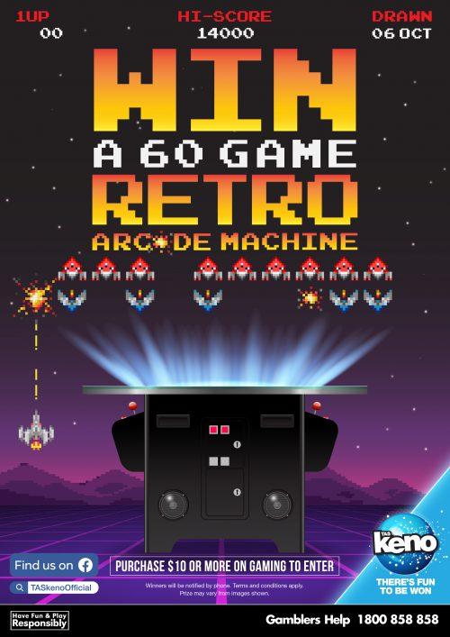 WIN a 60 Game Retro Arcade Machine